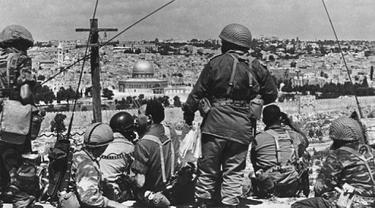 Perang Enam Hari Israel Vs Negara Arab