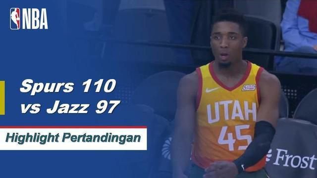 DeMar DeRozan memimpin jalan bagi San Antonio dengan mencetak 26 poin untuk pergi bersama dengan delapan assist saat Spurs mengalahkan Heat, 110-97.