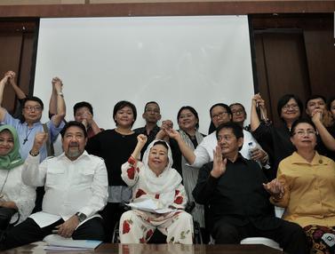 Bersama Tokoh Agama, Istri Gus Dur Deklarasikan Gerakan Warga Lawan Terorisme