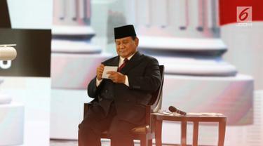 Beda Gaya Jokowi dan Prabowo Saat Debat Keempat Pilpres 2019