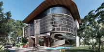 Rumah Baru Ayu Ting Ting (Instagram/angkasaarchitects)
