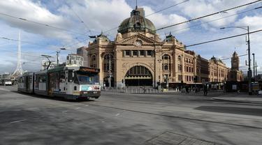 Suasana Melbourne Saat Masuk Pembatasan Tahap 4 Kasus Covid-19