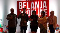 Acara peluncuran Hari Belanja Online Nasional (Harbolnas) 2018 (Liputan6.com/Komarudin)