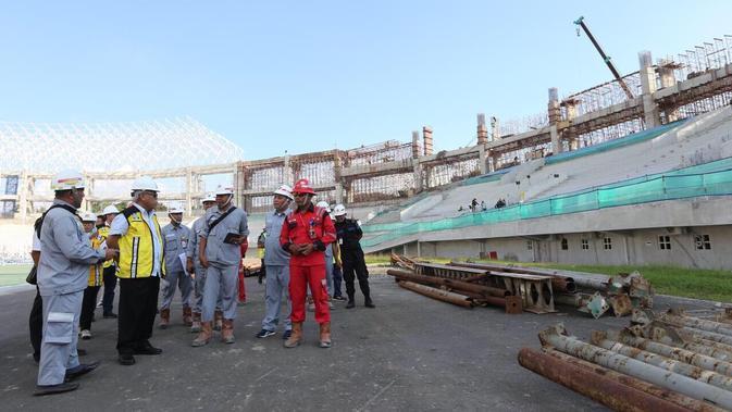 Renovasi Stadion Manahan Solo Target Rampung September 2019. Dok: Kementerian PUPR
