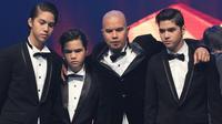 Al, El, Dul dan Ahmad Dhani (Instagram)