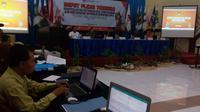 KPU Kota Malang Tetapkan DPS Pilkada Jawa Timur 2018 (Liputan6.com/Zainul Arifin)