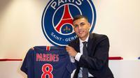 Leandro Paredes resmi menjadi pemain PSG. (dok. PSG)