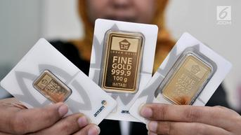 Harga Emas Antam Rp 509 Ribu per Setengah Gram, Ini Daftarnya