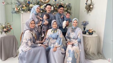 7 Pemotretan Keluarga Citra Kirana dan Erica Putri, Anaknya Tampil Gemas