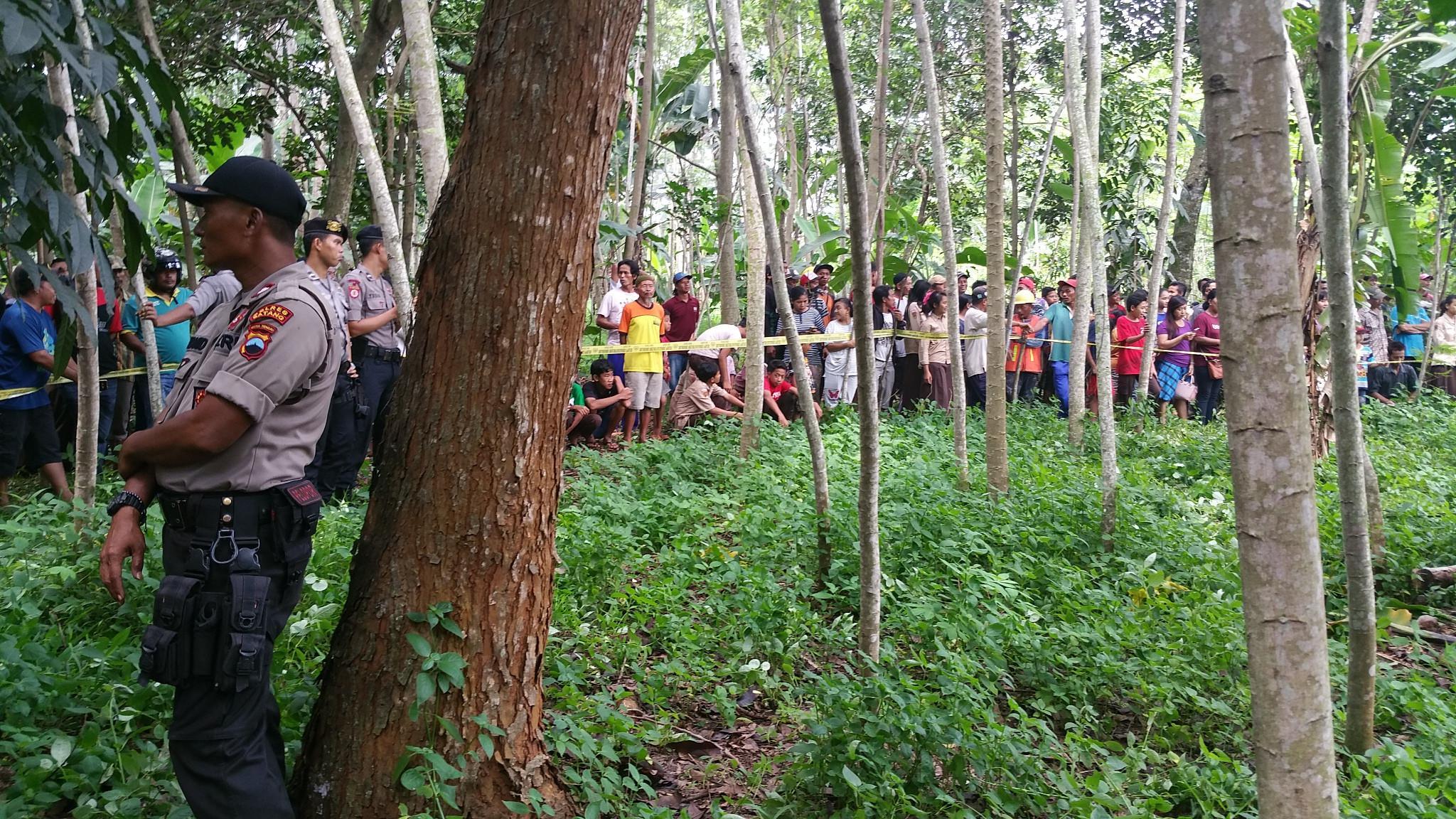 Pengungkapan aksi pembunuhan dukun palsu di Batang (Liputan6.com / Fajar Eko Nugroho)