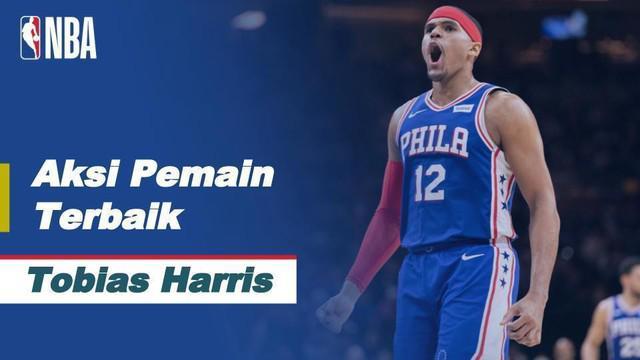 Berita video aksi-aksi keren Tobias Harris saat Philadelphia 76ers kalahkan Charlote Hornets di NBA, Minggu (3/1/21)