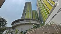 Penampakan Rusunawa Pasar Rumput, Jakarta, Kamis (18/7/2019). Rusunawa Pasar Rumput memiliki 1.314 kios dan 1.984 unit hunian. (Herman Zakharia)