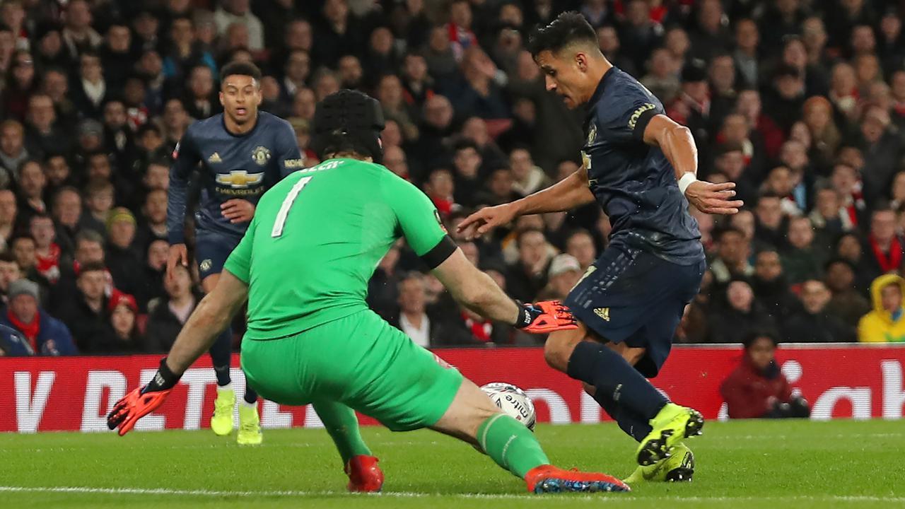 Manchester United Singkirkan Arsenal dari Piala FA