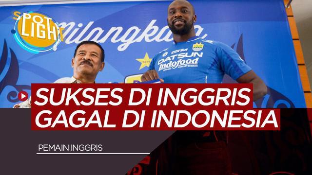 Berita Video Spotlight 4 Pemain Asal Inggris Yang Gagal Bersinar di Indonesia, Termasuk Carlton Cole