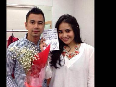 Terkenal sering gonta-ganti pacar, Raffi Ahmad akhirnya melabuhkan cintanya kepada Nagita Slavina. (instagram.com/raffiahmadlagi)