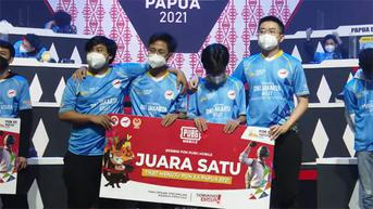DKI Jakarta Gondol Medali Emas PUBG Mobile di Ekshibisi Esports PON XX Papua