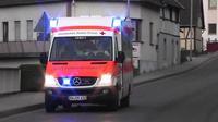 Ilustrasi ambulans di kota Bad Breisig, Jerman. (Sumber YouTube screencapture)