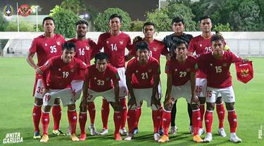 Timnas Indonesia Vs Afghanistan.