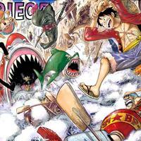 Manga One Piece. (Shueisha)