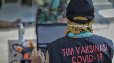 Simulasi Vaksinasi di Kota Bogor