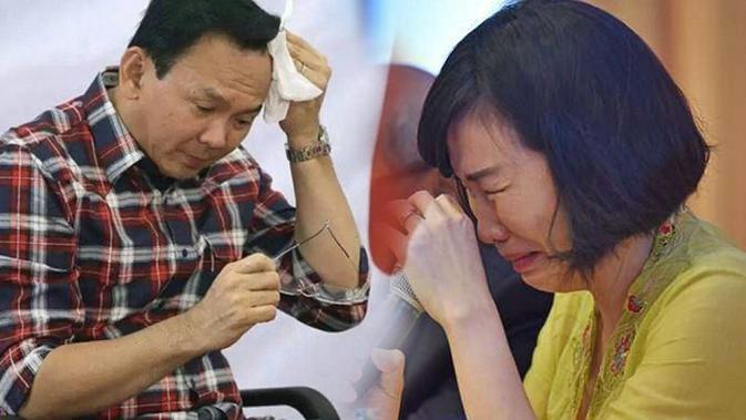 Majelis hakim dalam sidang putusan perceraian Ahok dan Veronica Tan akhirnya mengabulkan gugatan cerai Ahok.