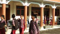 Suasana sekolah di Pondok Pesantren Cipasung, Tasikmalaya, Jawa Barat (Giovani Dio Prasasti/Liputan6.com)