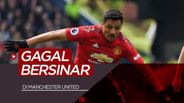 Berita motion grafis Alexis Sanchez dan 10 pemain yang gagal bersinar di Manchester United.