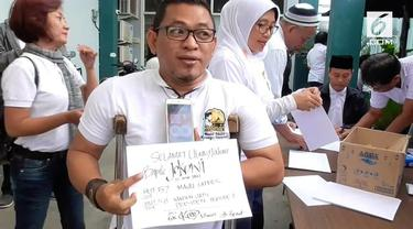 Presiden Joko Widodo ulang tahun ke-57, para relawan adakan syukuran.