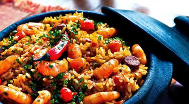 nasi goreng udang sosis