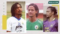 Hariono, Irfan Bachdim dan Jandia Eka Putra. (Bola.com/Dody Iryawan)