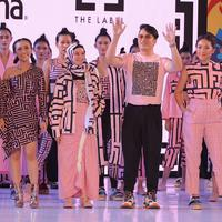 Koleksi kolaborasi antara TS The Label dan Rexona di panggung Fashion Nation 13th Edition.