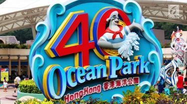 Liburan Seru Sambil Belajar di Ocean Park Hong Kong