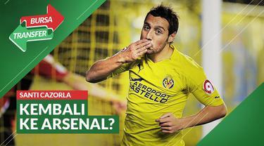 Berita Video Bursa Transfer: Tinggalkan Villarreal, Santi Cazorla Kemungkinan Akan Kembali ke Arsenal