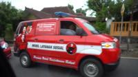 Mobil berlogo PDIP mengikuti iringan kampanye Sandiaga Uni di Jawa Tengah. (Istimewa)