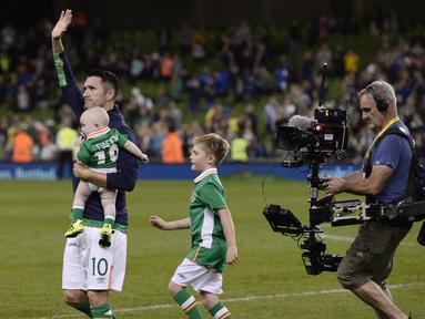 Usai Cetak Gol, Robbie Keane Pensiun dari Timnas Republik Irlandia