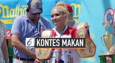 Miki Sudo berhasil mempertahankan gelarnya menjadi juara kompetisi tahunan makan hotdog. Kompetisi itu digelar dalam rangka merayakan hati kemerdekaan Amerika Serikat.