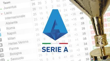 ilustrasi logo Seri A liga italia