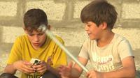 Anak-anak di kamp pengungsi Ahal di Abu Ghraib (CNN)