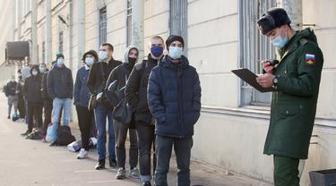 Perekrutan Tentara Musim Gugur di Rusia