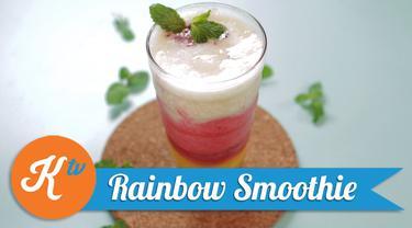 Resep Rainbow Smoothie, Sajian Segar di Hari Natal