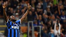 2. Romelu Lukaku (Inter Milan) - 12 Gol (3 Penalti). (AP/Antonio Calanni)