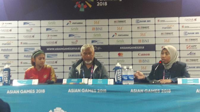 Kemenangan Perdana di Asian Games Bikin Timnas Sepak Bola Putri Bangga  Asian Games Bola.com