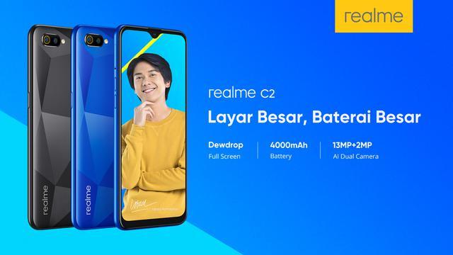 Gantikan Smartphone Murah C1 Realme Bakal Boyong C2 Ke Indonesia