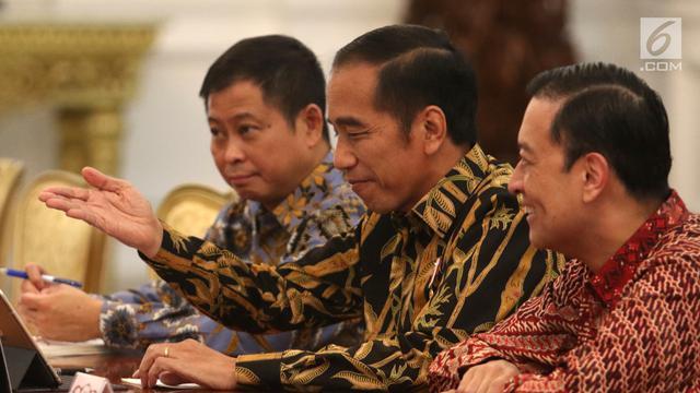 Jokowi Terima Kunjungan Menteri Jerman di Istana