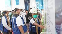 PLN meresmikan 5 Gardu Induk (GI) dengan total kapasitas 300 MVA yang tersebar di Provinsi Lampung yaitu GI Jati Agung, GI Ketapang, GI Langkapura, GI Dipasena, dan GI Mesuji, Rabu (23/9/2020).