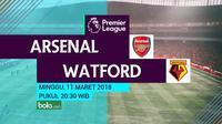 Premier League_Arsenal Vs Watford (Bola.com/Adreanus TItus)