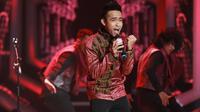 Fildan di Konser Kemenangan D'Academy Asia 3. (Adrian Putra/Bintang.com)