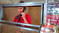 Manajemen Hotel Metland Cirebon terus berupaya tetap beroperasi ditengah pandemi covid-19 dengan menawarkan beragam paket menarik. Foto (Liputan6.com / Panji Prayitno)