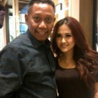 Tukul Arwana dan Meggie Diaz (Instagram/@megghidiaztawa)