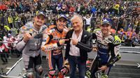 Kemenangan di Sirkuit Phillip Island membuat Marc Marquez menggenapkan raihan menjadi 375 poin, jumlah terbesar dalam kariernya. (Twitter/@MotoGP)